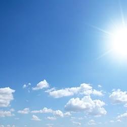 meteo soleggiato