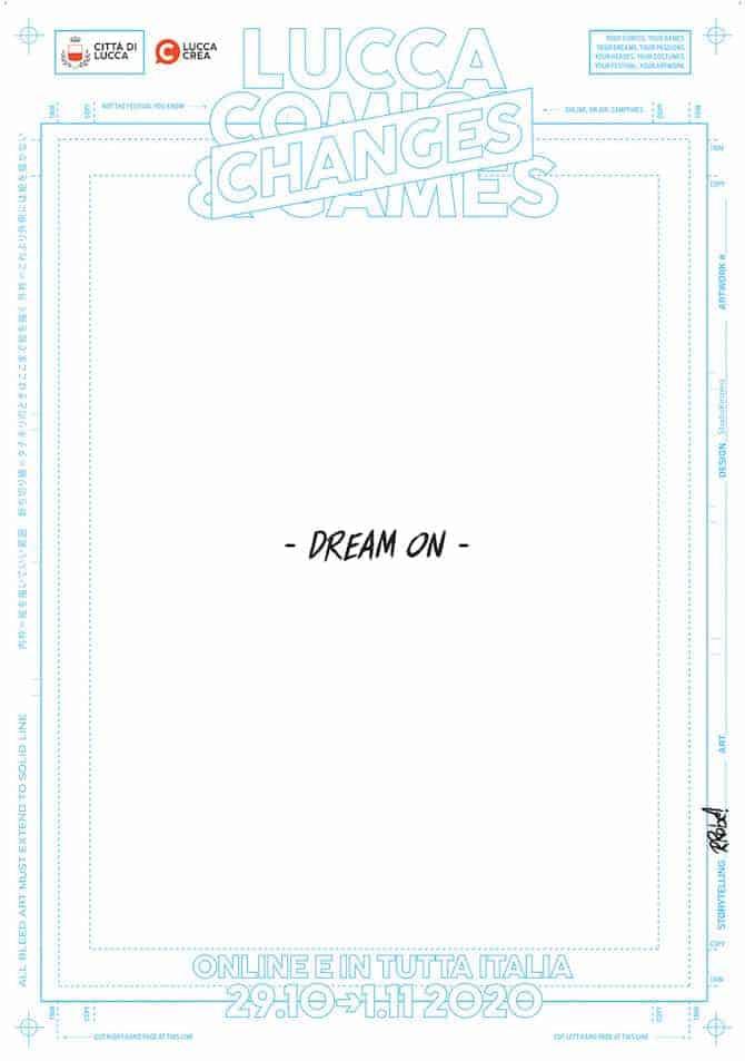 lucca comics 2020 poster