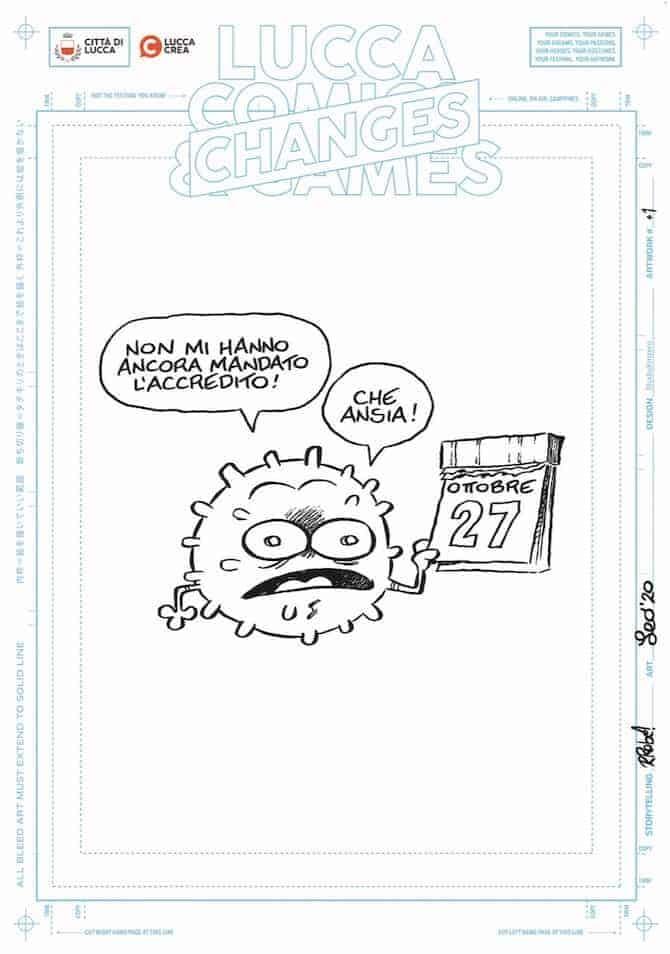 lucca comics 2020 ortolani