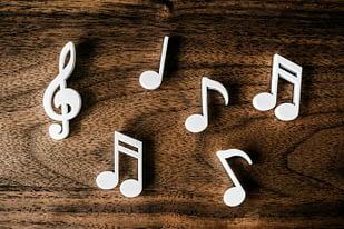 m musica e note